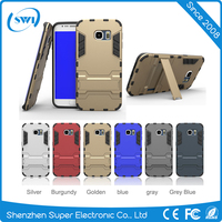 shockproof Tough Stand hybrid heavy duty TPU+PC phone Case cover For samsung galaxy s7 edge