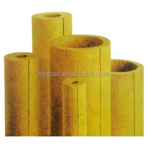 Top Quality Fireproof Mineral Wool Pipe / Tube Insulation
