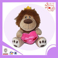 valentine lion type plush toy