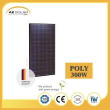 Hot Sale AE P6-72 Series 300W-325W Black Frame Poly Solar Panel 36v Solar Panel Wholesale
