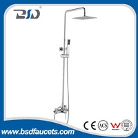 Brass contemporary style bath shower complete set bathtubs showers mixer set shower faucet made in China