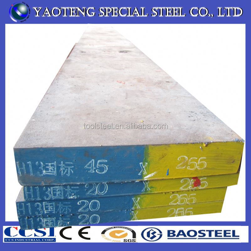 Hot work mould 1.2344 iron and steel flat rolled products