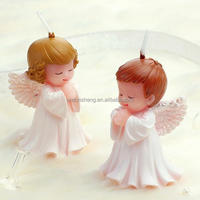 smokeless Angel baby Craft Candles