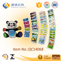 2016 attractive Educational learning bear with cards