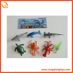 hot sale plastic toy sea animals models sea animals toys AN1028666F-6