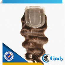 New arrival 6-36inch peruvian virgin remy hair body wave free style bordered silk base 4*4 lace thin skin closures