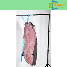 home use hanging clothes storage vacuum bag for long clothes