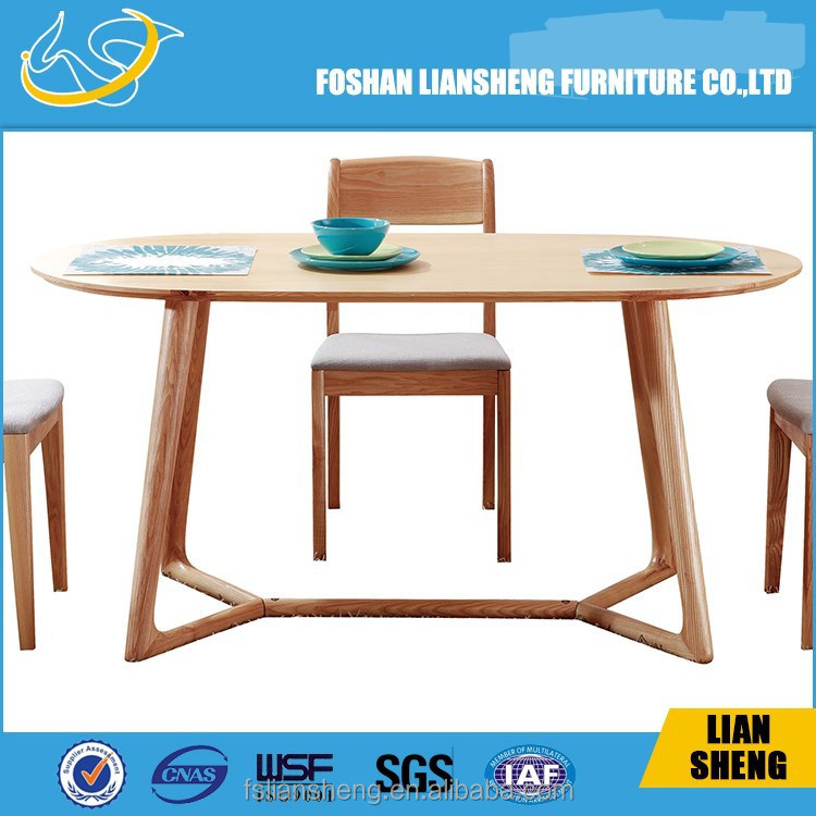 SOLID WOOD IMPORT ASH Dining Table DT007-R4010