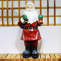 Handmade Magnesia Santa Claus Figurines Design for Garden Decor