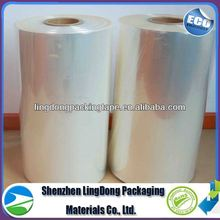 clear New productfrom china pof tube film