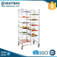 Heavybao Knocked-down Kitchen Insulated Food Trolley Cart For Sale