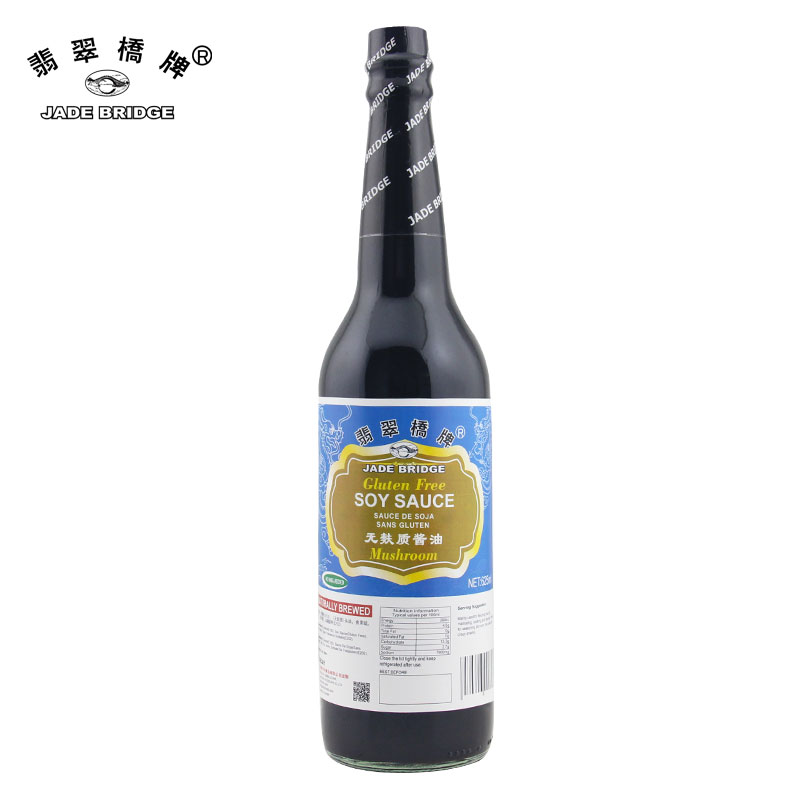 Traditional Thick Seasoning Gluten Free Mushroom Soy Sauce