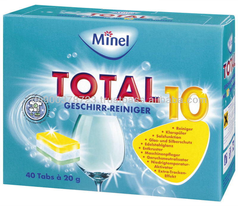 Dishwasher Tablets Detergent - made in Germany