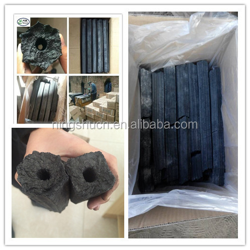 sawdust briquette charcoal hot sale in greece, turkey,malaysia,etc