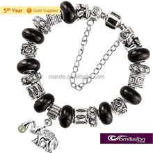 Hot sale europe foreign trade quality jewllery products,women's charms for gifts bracelet bangle