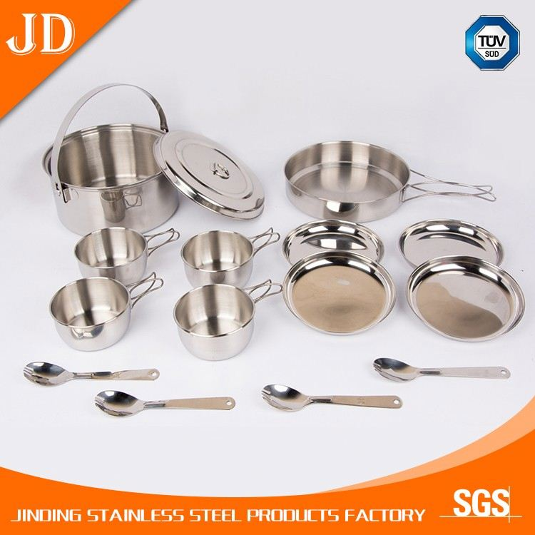 chinese innovative products new decorative stainless steel cookware brand set