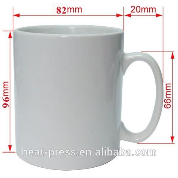 11oz Aaa White Sublimation 11 Oz Mug Dimensions Buy 11