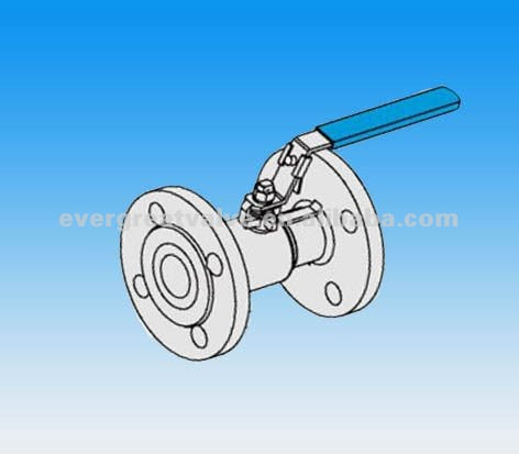 1-PC BALL VALVE FLANGED END