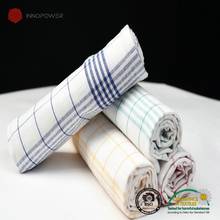 100% cotton yarn dyed tea towels bulk dish cloth for kitchen towels