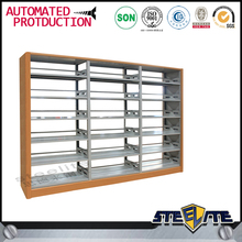 Standing KD library furniture 6 layers store shelves/ book racks