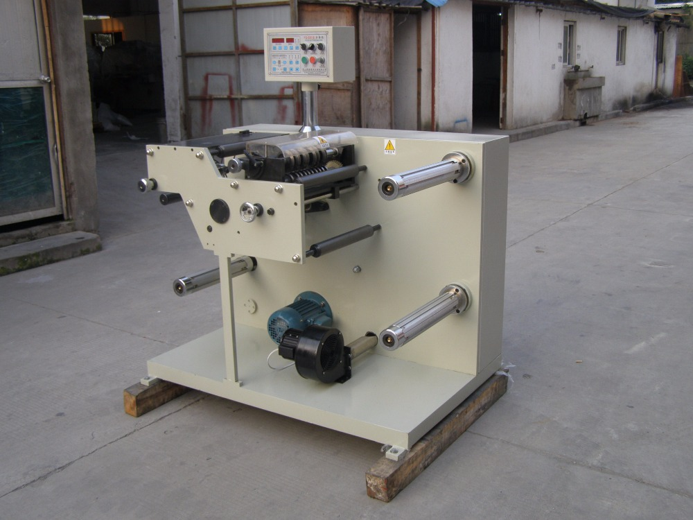 barcode label slitter and rewinder machine (Vertical) HX-320FQ