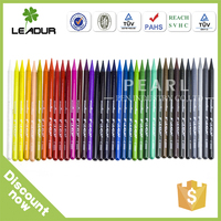 single color colored pencils set with roll up