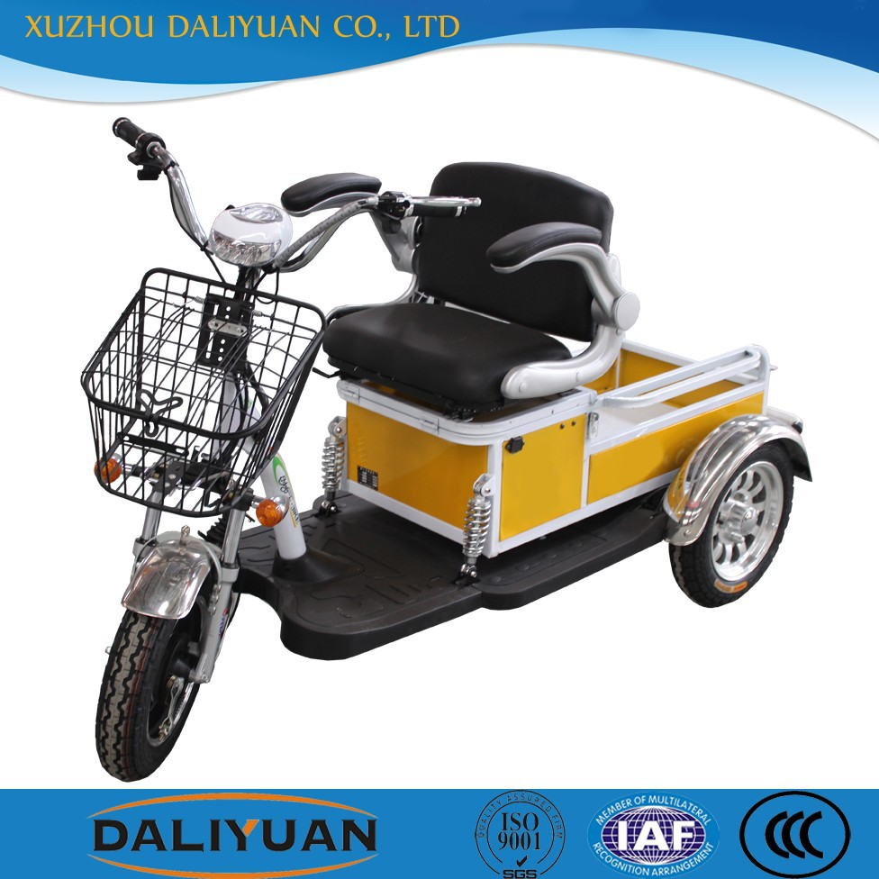 electric tricycle pedal for manned and cargo dual-use