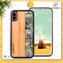 2017 ECO-Friendly sell Wood phone case For new iphone 8, Custom logo For iPhone Case,Handmade wood with tpu/pc Case For iPhone x
