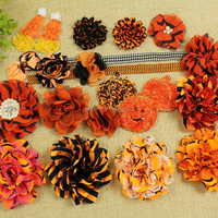 Halloween Hair Flowers With Elastic Band