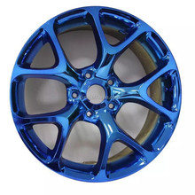 IVIP Nanometer Coating Blue Chrome Car Paint For Wheels