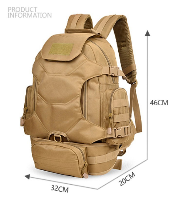 <strong>1000</strong> <strong>D</strong> nylon large waterproof hiking backpack military tactical molle backpack