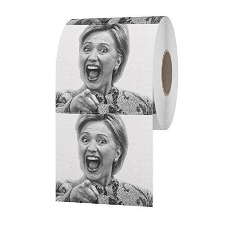 Factory Wholesale Fancy Trump Toilet Paper