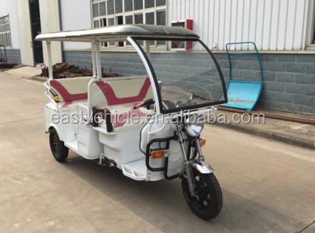 three wheel auto rickshaw adult electric tricycle / electic tricycle for passenger china tricycle
