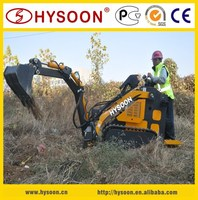 MINI SKID STEER LOADER WITH EXCAVATOR