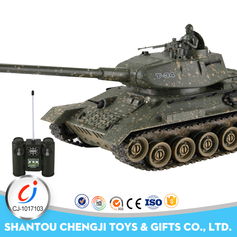 High qulity cool design plastic rc military toy battle war tank for kids