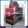 TSD-M369 engine oil display shelf rack/2 sided free standing display shelf for motor oil/display racks for engine oil