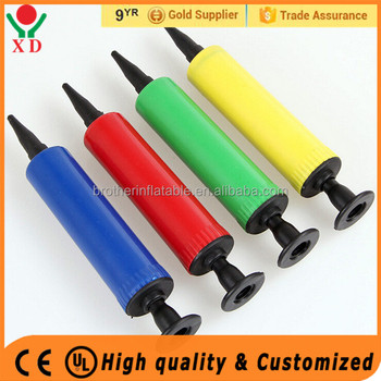Factory price Plastic Hand Pump Small Balloon Pump balloon pump price