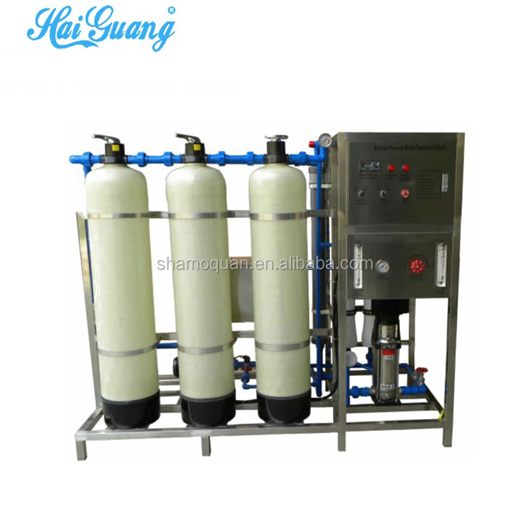 RO water purification plant 12000l water production machine name
