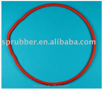 UL94 V0 silicone rubber seal ring rubber parts