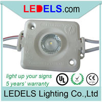 waterproof high power led modules,12V 1.6W injection led sign light modules for light box, 5 years warranty