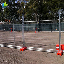 Wholesale construction site galvanized Australia temporary fence