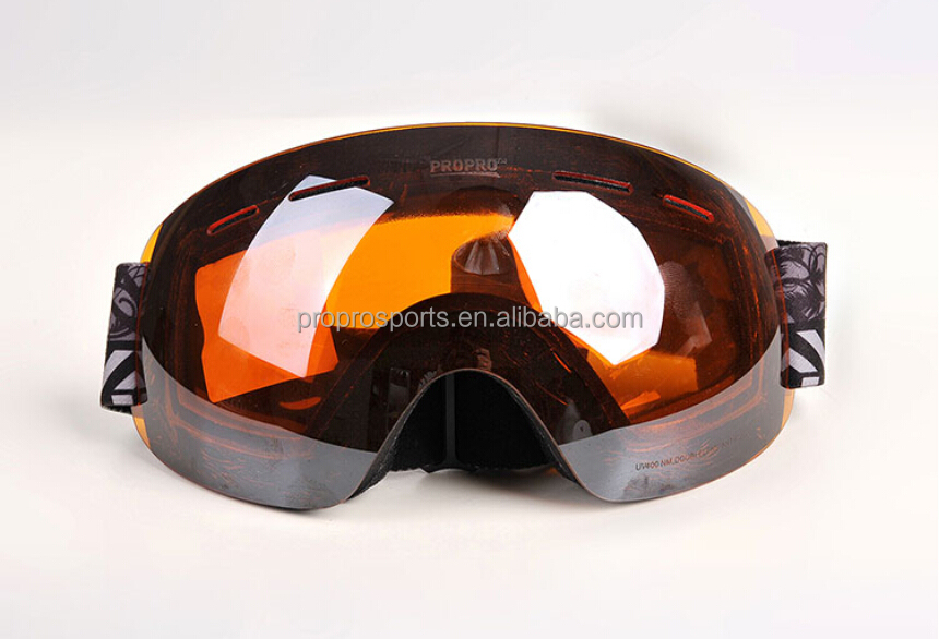 Skiing,Snowboarding,Snowmobile,Motor Cycling Eyewear Goggles Super Light Fameless Snow Goggles