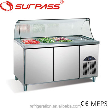 G0.5L2FSL Surpass Commercial Stainless Steel Salad Bar