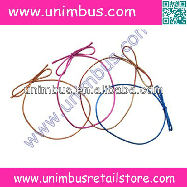 Elastic Strectch Cord Hand Knotted Bows