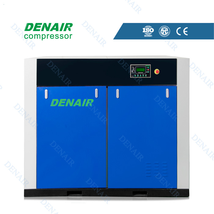top supplier 65KW industrial dry oil free screw type air compressor machine