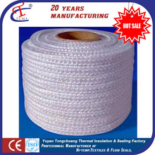 Tongchuang Fiber Glass Braided Square Rope for Industrial Oven Gasket