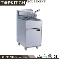 New Design Heavy Duty High Efficiency Gas Fryer With Temperature Control