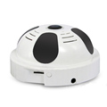 Hot selling ! H.264 2.0Megapixel Wifi Panoramic Smoke detector shaped IR IP Camera