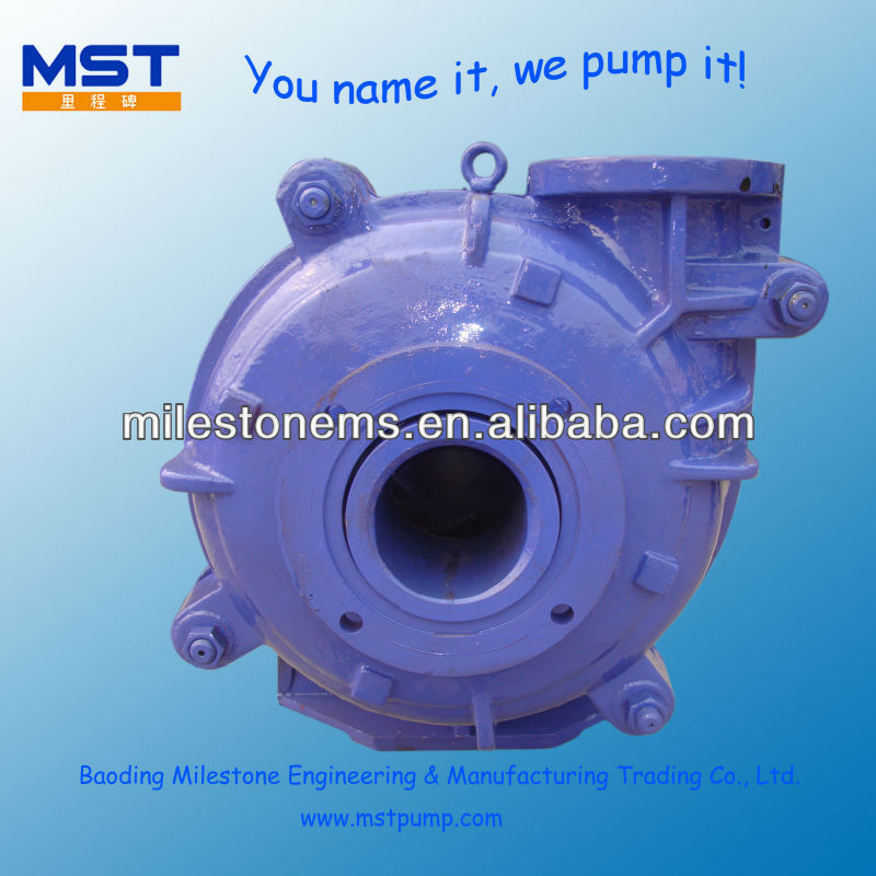 Rubber Lined Horizontal dc electric motor hydraulic pump