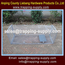LB Live Animal Trap Catch Release Humane Rodent Cages For Fox Raccoon Chipmunks Steel Outdoor China Supplier